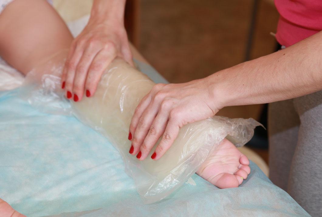 Как сделать компресс на кисти руки