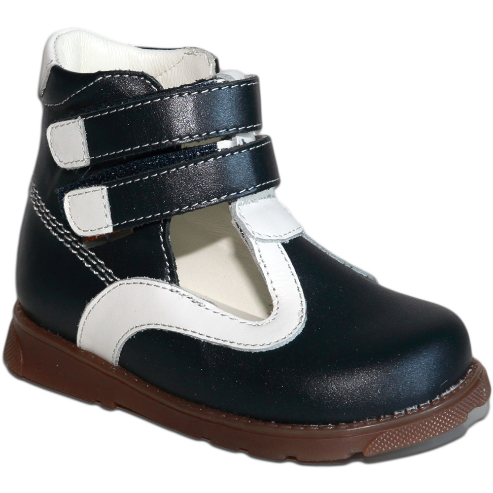 Антей синий белый - Футмастер - Детская ортопедическая обувь